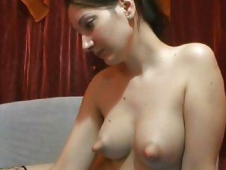 Webcam puffy nipples (NO SOUND)