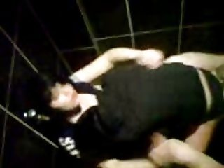 Polish couple fuck in toilet on disco - hidden cam