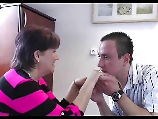 59yr old Granny Manuela Loves Cock and Tasting Cum