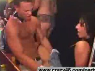 Girls Get Drunk and Go Wild at Male Strip Club
