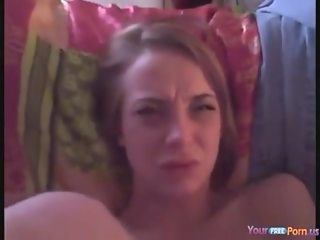 Teen Face Goes Into Orgasm Mode