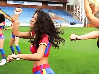 Sexy Cheerleaders do Gangnam Style