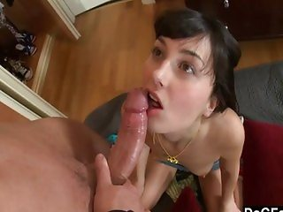Losing her anal virginity with a big dick