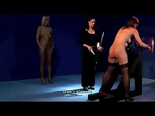 The Whipping contest Show (2on3) OtO