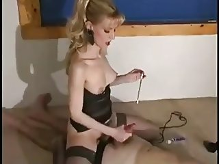 Mistress Sits Jerks Sounds