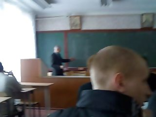 handjob in classroom