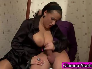 Clothed stocking babe fuck cumshot