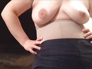 wife - topless and clueless