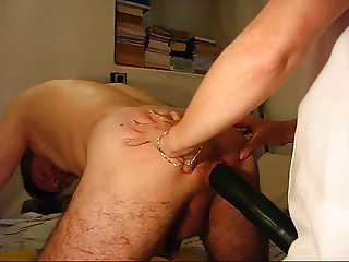 Mistress A. fucks her male bitch