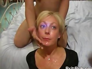 Milf Jade Swallows in Oral and Bukkake Video
