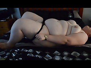 SSBBW undressing + fucking