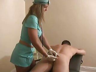nurse heals boy with a handjob by WF