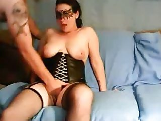 MILF is one happy fuck machine with her man