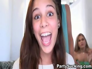 Give Head Party with Hottest Teens