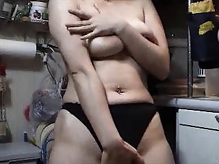 Mature Asian MILF Gets Naked and Naughty with Huge Toy