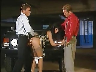 classic retro 80s clip #1 a stunning beauty in MMF action