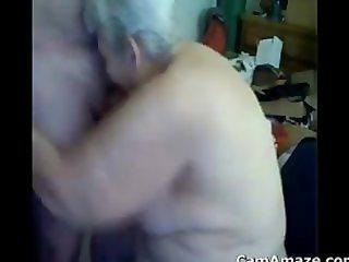 Grandma Gives A Great Blowjob