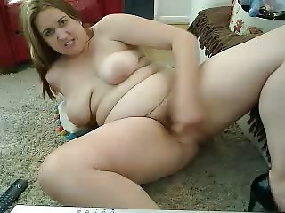saggy tits bbw cam-slut workout