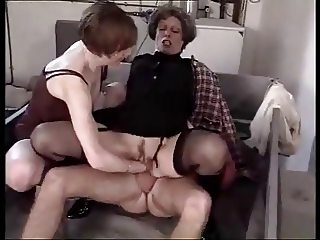ANAL + FIST (Double Penetration) FOR FRENCH GRANNY