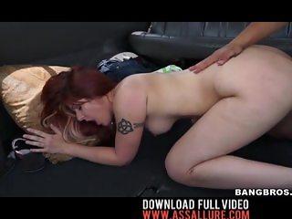 Alessa Snow Big Tit Redhead Anal Fuck