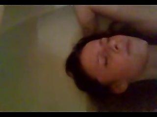 Filmed by surprise masturbating
