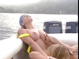 Lesbians on boat