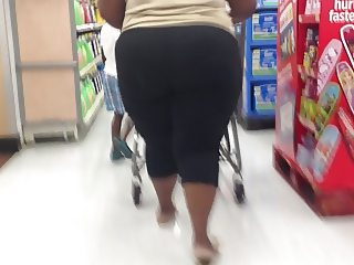 big ghetto black ass candid