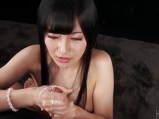 Handjob cumshot cream WoW