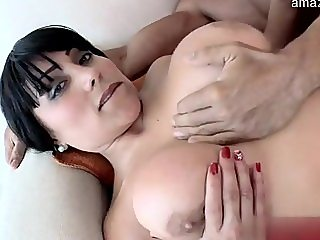 Glamour amateur loud orgasm