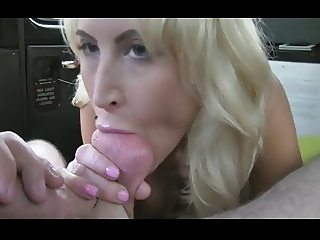 Brit Slut Takes Huge Facial