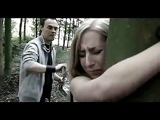 BDSM - Blonde Hunted in Forest