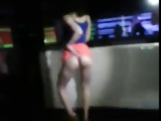 Korean Slut Club Thong Dance