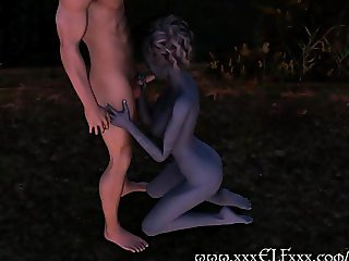 Magical 3D Hentai Suck and Fuck Fantasy