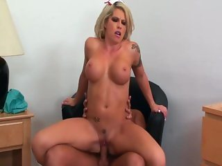 nurse fucked in sexy knee high boots