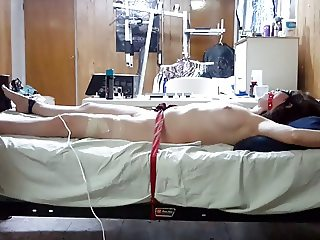Post Orgasm torture to my girlfriend witha magic wand 2.