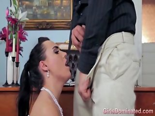 Stephani married a very dominant guy