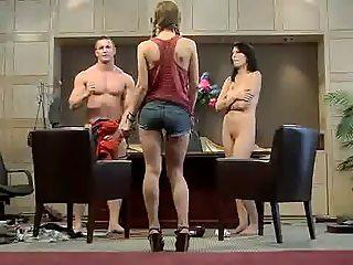 Couple Fuck on the Desk