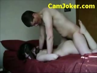 Horny Couple Caught On Tape