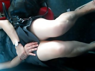 Londonperv's Video Candids - Train Perving (What a Show)