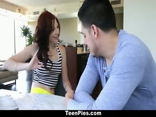 TeenPies - Chloe Love Poked And Filled with Cream