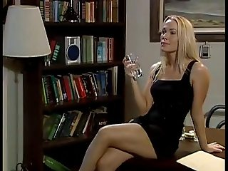 Hot lesbians getting it on the office