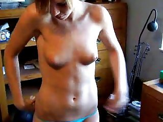 boyfriend films girlfriend stripping and posing