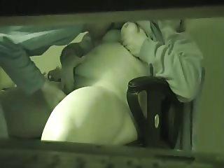 Hidden cam caught not dad fucking not a  stepmom at her desk