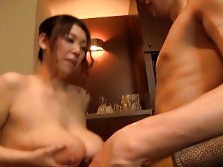 Mio Sakuragi-Breast milk drink Part3 by TOM