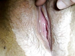 Another close up of my gooey wet pussy