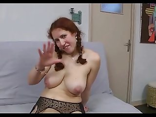 FRENCH CASTING 134 redhead anal mature mom milf