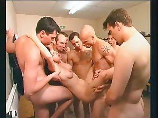 1 Girl vs 7 Guys