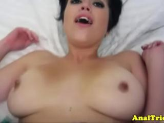 Buttfucking exgirlfriend loves deep anal