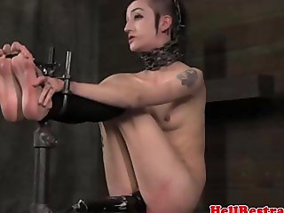 Maledom master punishing her submissive