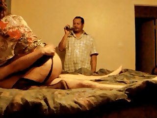 Husband Watching Wife Getting Fucked By His Boss